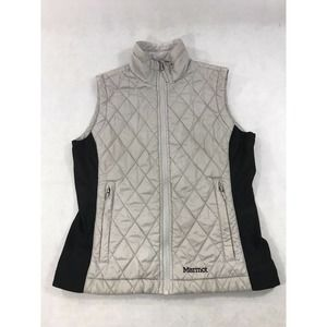 Marmot Diamond Quilted Puffer Vest S Read